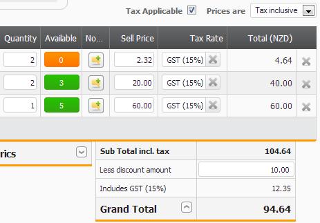 Screenshot SO Taxes